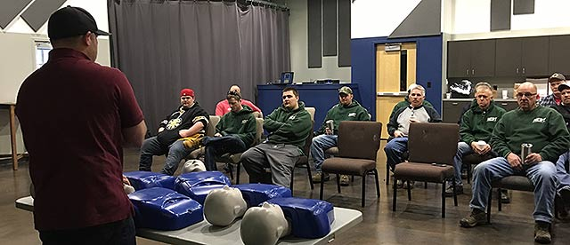 CPR and First Aid Training