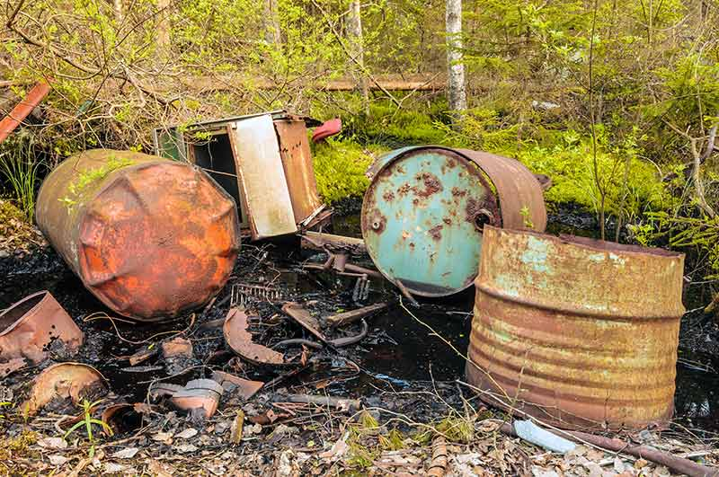 Contaminated Site In Need of Remediation