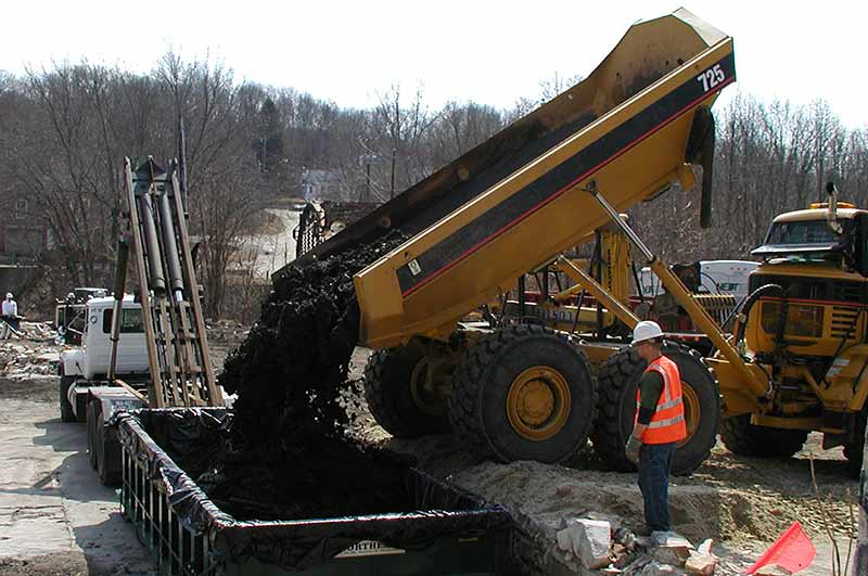 Contaminated Soil Excavation & Disposal