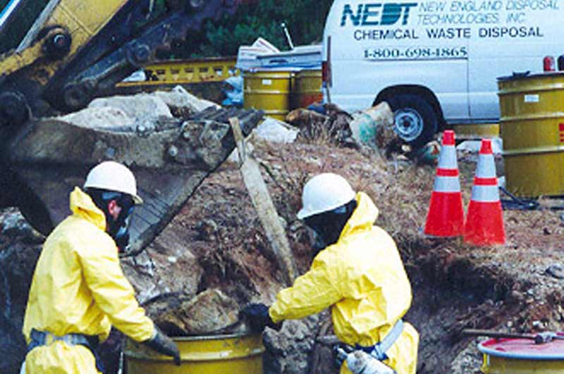 Excavation, Characterization, & Disposal of Buried Chemicals