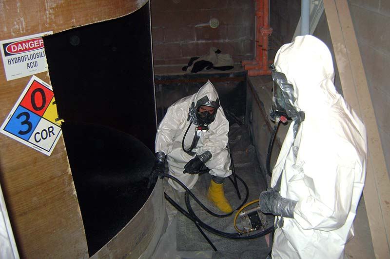 High Hazard Chemical Tank Dismantling