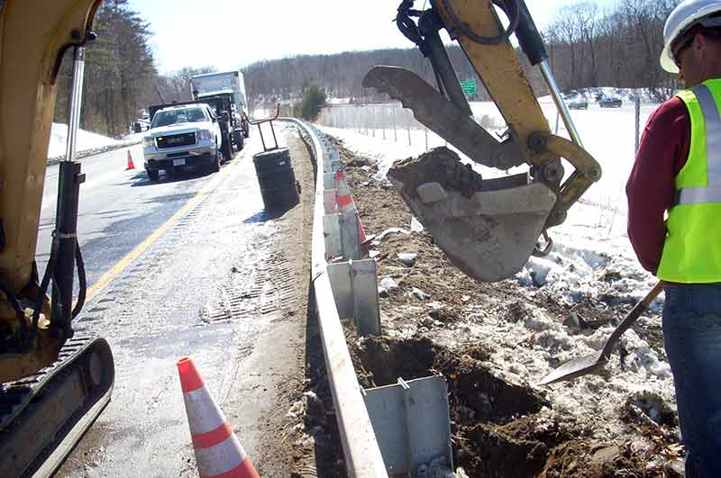 Highway Diesel Fuel Spill Cleanup and Contaminated Soil Removal