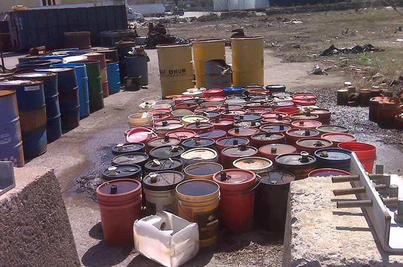 Industrial Chemical Waste Disposal
