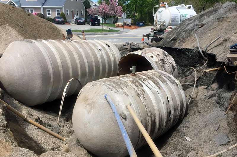 Underground Gasoline Tank Removal