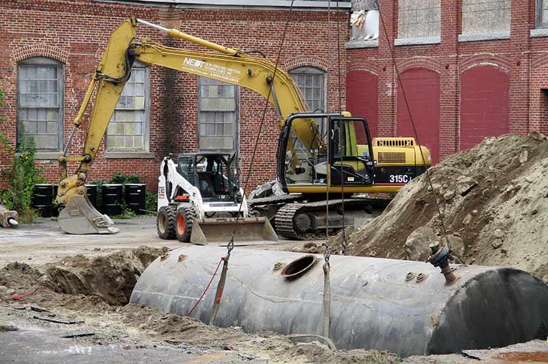 Underground Hazardous Waste Tank Removal